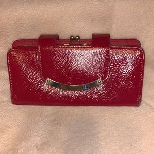 EUC Red Wallet